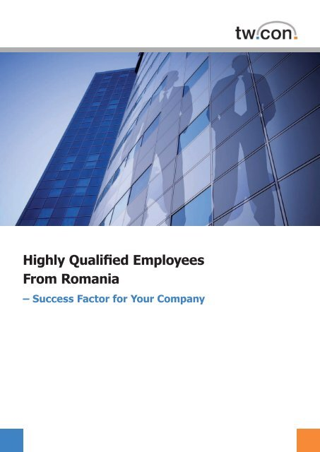 Highly Qualified Employees From Romania - Spreeforum ...
