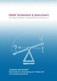 FORUM Technologie & Gesellschaft