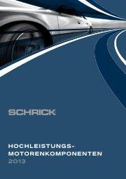 Katalog 2013 - AVL SCHRICK GmbH
