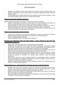 Job description and person specification - Eteach - Page 4