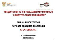 National Consumer Commission: Annual Report 2012-13