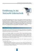 Technischer Leitfaden zur Netzwerk-Videotechnologie - Seite 6