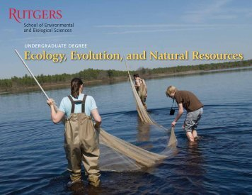 Ecology, Evolution, and Natural Resources - Rutgers School of ...
