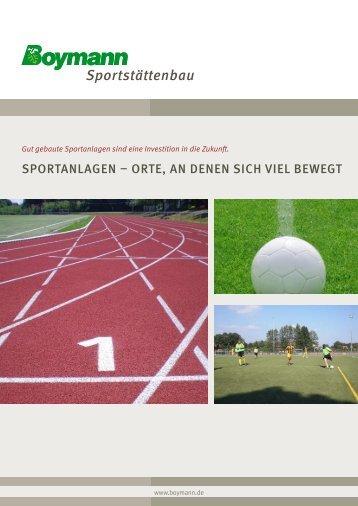 Info-PDF Sportstättenbau zum Download