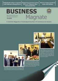 Magazine - Islamabad Chamber of Commerce & Industry