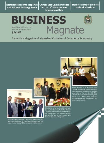 Magazine - Islamabad Chamber of Commerce & Industry