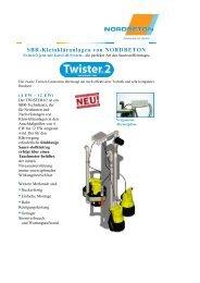 NORDBETON GmbH - SBR-Kleink... - Kläranlagen-Vergleich