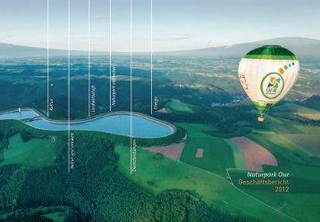 Naturpark Our Geschäftsbericht 2012