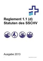 Statuten des SSCHV - Schweizerischer Schwimmverband