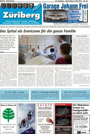 Das Spital als Eventzone für die ganze Familie - Lokalinfo AG