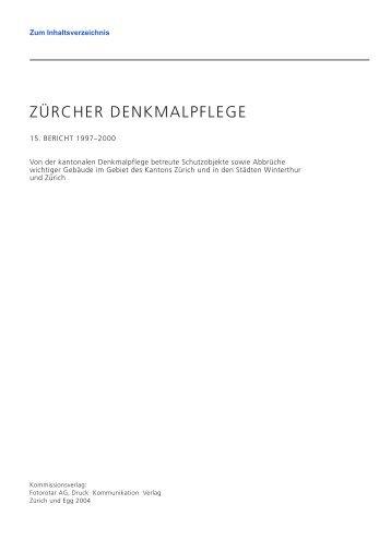 Laufen-Uhwiesen Gesellenhaus 15 Bericht.pdf ... - crarch-design.ch