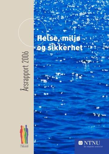 Årsrapport 2006 - NTNU