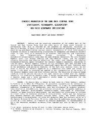 cenozoic magmatism of the surk area (central iran) - Revue de ...