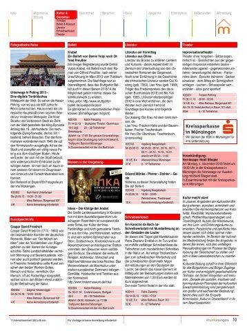 Intro Allgemeine Bildung Kultur & Gestalten Gesundheit Sprachen ...