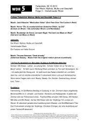 Regiemanuskript_Der Rhein_Folge 3 - WDR 5