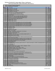 Liste de prix Suisse 2011 Leblanc illuminations, décors ... - Elevite AG