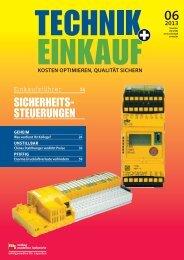 Ausgabe 6 / 2013 - technik + EINKAUF