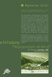 programm - Österreichische Berg- und Schiführer