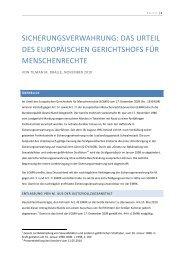 das urteil des europäischen gerichtshofs für ... - tilman-dralle.de