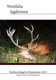 Direktlink zum Angebot - Westfalia Jagdreisen