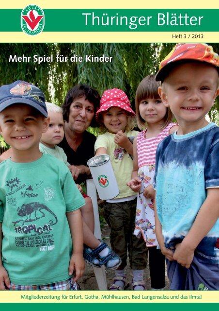 Thüringer Blätter - Volkssolidarität Bundesverband e.V.