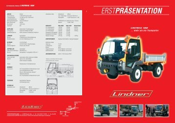 Der neue UNITRAC 102 - NEZ AGRO sro