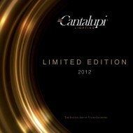 LIMITED EDITION - Cantalupi Lighting