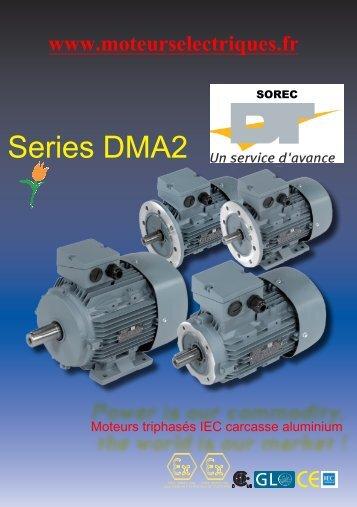 Documentation sur les moteurs triphasés Aluminium IEC