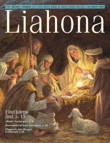 December 2008 Liahona - Jesu Kristi Kirke af Sidste Dages Hellige