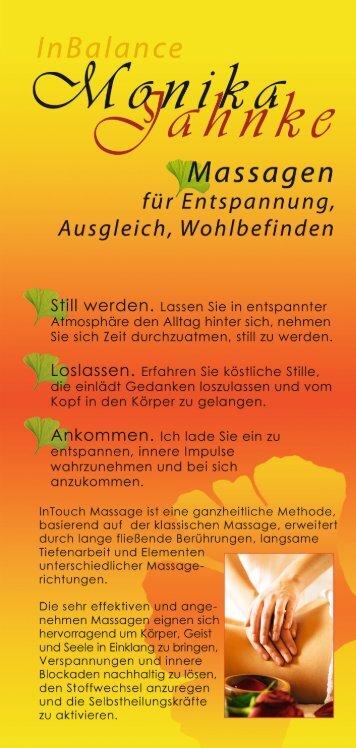 Den aktuellen Flyer finden Sie hier auch als ... - zu Monika Jahnke