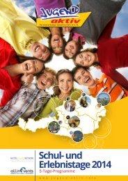 5-Tage-Programme 2014 - Jugend aktiv