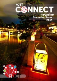 December 2013 issue of AJET Connect (18.7MB PDF)