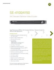SE-4100/4150 - Motorola Solutions