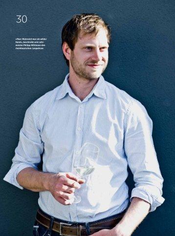 «Marc Weinreich war ein wilder Hund», beschreibt ... - Weinreich Wein