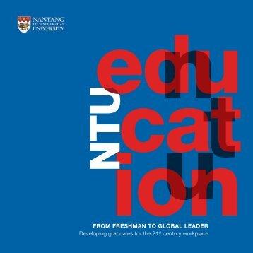 NTU Education - Nanyang Technological University