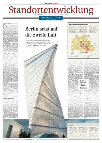 Standortentwicklung am Beispiel des Berliner Südostens - REMD