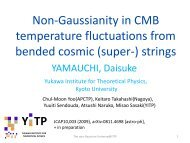 Non-Gaussianity in CMB temperature fluctuations from bended cosmic