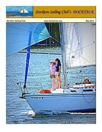 Docktalk May 2013 - Stockton Sailing Club