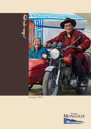 Brochure Terre Mongolie - Terre Voyages