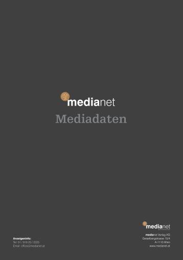 Mediadaten / Tarife 2014 - Medianet