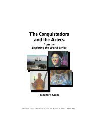 The Conquistadors and the Aztecs - Discovery Education