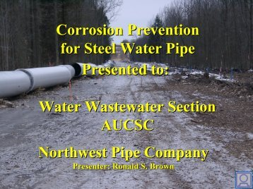 11 Corrosion Prevention of Steel Pipes 2012