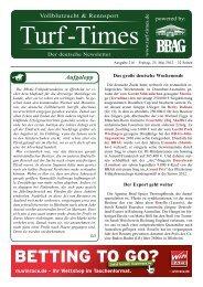 Zucht International - Turf-Times Deutschland