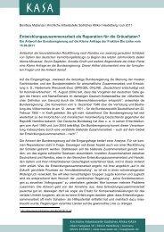 Entwicklungszusammenarbeit als Reparation für die Gräueltaten?