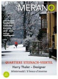 Meran-o Magazine Winter 2013/2014 (PDF - 9,68 MB) - Meraner Land