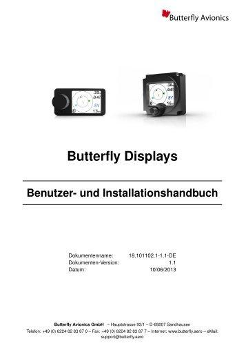 Butterfly Displays Benutzer- und Installationshandbuch