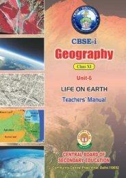 CLASS TEACH CBSE-i CLASS-XI GEOGRAPHY TEACHERS ...