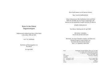 herunterladen - Hackländer, Friedrich Wilhelm Ritter von