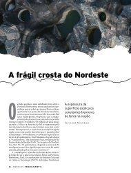 A frágil crosta do Nordeste - Revista Pesquisa FAPESP