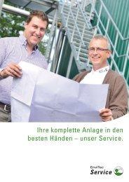ENV service folder gesamt 1310.indd - EnviTec Biogas AG